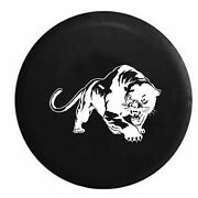 Spare Tire Cover Panther Stalking Prey Rv Accessories