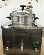 Stainless Steel 16l Cooking Countertop Fried Chicken/ Duck/ Fish/ Meat Si