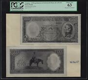 Uruguay Face And Back 1000 Pesos L1939 Pick Unlisted Photograph Proof Uncirculated