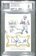 2016 Panini Flawless Now And Then Rookie Signature 10 Dak Prescott No 13 Of 20