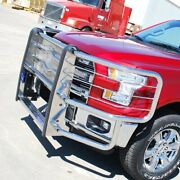Luverne 310713 Prowler Max Brush Guard Sierra 1500 Silverado Ford Stainless