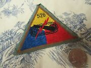 Vtg. Wwii Us Army 526th Armored Infantry Battalion / T - Force Bevo Weave Patch
