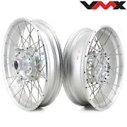 Vmx 3.019and039and039/4.517 Tubeless Wheels Rims Set For Bmw R1200gs Adventure 2013-2020