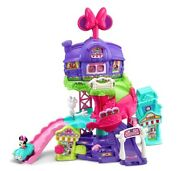Vtech Go Go Smart Wheels Minnie Mouse Around Town Playset Fun Toddlers New