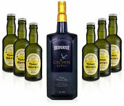 Gin Tonic Set - Beefeater Crown Jewel 1l 50 Vol + 6x Fentimans Tonic Water 2