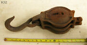 Antique Iron Pulley From Old Copper Queen Mining Complex Bisbee Az Mine Artifact