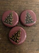 Set Of 3 Bell's Beer Brewery Bottle Caps Tops Christmas Ale Christmas Tree