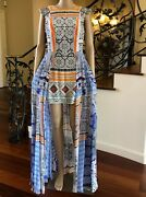Nwt Camilla Silk Minidress With Overlay, Multicolor Size Xs/s Sold Out