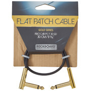 Rockboard Flat Patch Cables 11.81 Gold