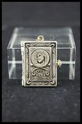 Anddagger Ecce Homo Stations Way Of The Cross Silver Book Locket Pendant 14 Pictures Anddagger