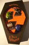 Disney Pin Nightmare Before Christmas This Is Halloween Box Set Of 4 Pins Le1000