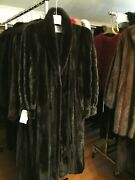 Chicago Fur Mart Size 14.classic Brand New Female Ranch Mink Coat.12.000.00