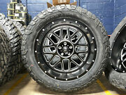 22x10 Xd Xd820 Grenade Black Wheels Rim 35 Fuel At Tires 6x135 Ford Expedition