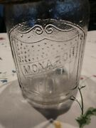 Monarch Clear Mason Jar With Wire Bail And Lid