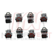 8 - High Impedance Denso Female To Ev6 Male Fuel Injector Connector Adapters