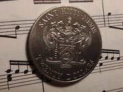 St Christopher Kitts And Nevis 20 1982 Km4 Cuni Battle Of The Saints Very Rare