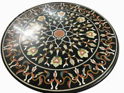 48 Marble Coffee Table Top Semi Precious Stones Inlay Work Home Room Furniture