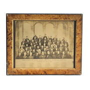 Antique 1866 Prr Railroad Gilded Age Industrialists Robber Barrons Collage Photo