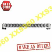 Rigid 30 Led Light Bar Double Row Curved Spot Rds-series Pro White Housing