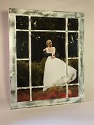 16x20 Wedding Picture Frame, Antique Styled Window Frame, Farmhouse