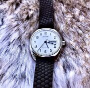 Vintage Jean Revlin Automatic Month Day Swiss Made Shock Resistant Watch