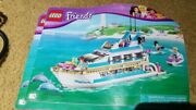 Lego Friends Dolphin Cruiser 41015 Complete. Instructions Included