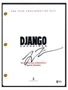 Quentin Tarantino Signed Autographed Django Unchained Movie Script Beckett Coa