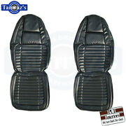 1970 Charger 500 Rt Vinyl Front And Rear Seat Covers Upholstery Pui New
