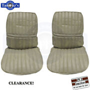 71-72 Cutlass Supreme Front Seat Upholstery Covers Sandalwood Pui Clearance