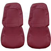 1969 Camaro Standard Front Bucket And Rear Seat Upholstery Covers Colors Pui New