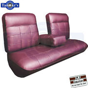 1963 Cadillac Deville Front And Rear Seat Covers Upholstery Coupe Pui New