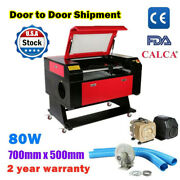 80w 27.5 Andtimes 20 700mmandtimes500mm Co2 Laser Engraving Engraver And Cutter Machines