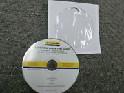 New Holland Intelliview Iv And Plus Ii Combine Yield Software Operator Manual Cd
