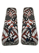 Ls Coil Covers Custom Hydro Dipped American Flag High Gloss Holley 242-1