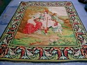 Antique French Tapestry Signed And Dated 1800. 6and03910 X 6and0390