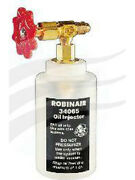 Robinair R134a Oil Injector 1/2 Acme Fitting To9815