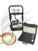 Cps Compact Charge Station 48l/min 2 Stage Vacuum Pump To3260