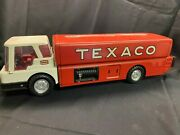 Amf Mac Texaco Jet Fuel Delivery Tanker Toy Truck Metal Vintage 60and039s Gas Oil