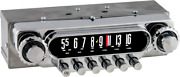 1951-52 Ford Truck And Station Wagons Am Fm Stereo Bluetoothandreg Radio For 6 Volt