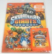 2013 Topps Skylanders Giants Sticker Album 48 Page New Sealed With 21 Stickers