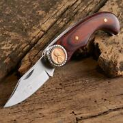 Folding Pocket Knife Lincoln Penny Stainless-steel Blade 1976