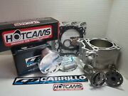 Yamaha Yfz450 Std Bore Kit 95mm Cp Piston 12751 Cylinder Works Hot Cams Stage3