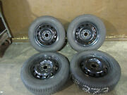 Honda Accord Steel Wheels 63933 With Snow Tires Set Of 4