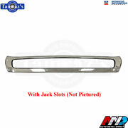 1972 72 Dodge Charger Triple Plated Chrome Rear Bumper Brand New Tooling Amd