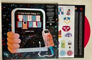 Pictish Trail - Thumb World Hand Signed Pink Vinyl + Sticker Sheet Autographed