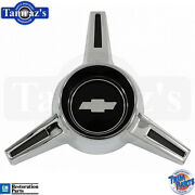 65-66 Chevy Caprice Wheel Center Cap Spinner Set Of 4 Trim Parts