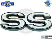 1973 73 Chevelle Ss Rear Body Panel Emblem - Made In Usa New Trim Parts 4756