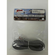Atlas New 2021 Model Railroad Signal Extension Cable Long 70000054