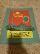 Vintage Newman Woodworking Machinery Product Proposal Quote Guide