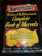 Early 1st Time In 1 Vol 1941 Richard Halliburtonand039s Complete Book Of Marvels